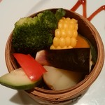 蔭山樓  - 蒸しお野菜