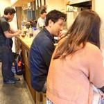 日本酒食堂SO-KEN - 店内風景。
