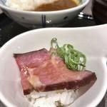 ワイン&ダイニング エマブル - 朝食(\2,500) ローストビーフ丼