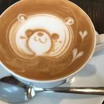 カフェ マンナ - かわいいラテアート