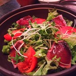 花歩 - 鰹のタタキサラダ
