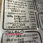 ビーストキッチン - メニュー