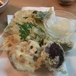 下鴨 芹生 - 野菜の天ぷら
