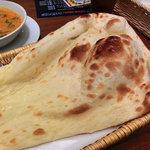 インドカレーレストラン マサラ - NEW!!2011.07 ナン