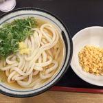 大和製麺 - かけうどん冷大