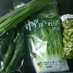 道の駅 びわ湖大橋米プラザ - そろそろ枝豆の季節ですね^^