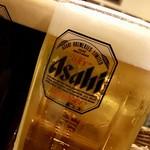 酒場 やまと - 生ビール