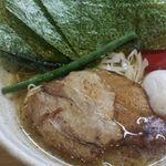 らーめん 桑嶋 - 桑嶋 魚鶏塩ラーメン味玉・海苔