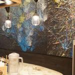 ソラノイロ ナゴヤ - 壁のアート