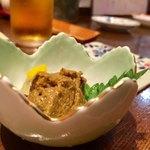新料理 都留野 - かに味噌 500円