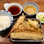 天ぷらの山 - 山定食