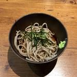 天ぷらの山 - 小蕎麦