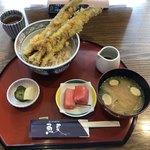 魚夏 - 穴子の天丼