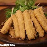 蕎麦 游山 - ごぼう天