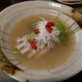 かたつむり - 料理写真:熊の手のスープ