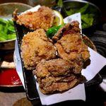 水炊き・焼き鳥 とりいちず - 秘伝の鶏唐揚げ¥499 2018.6.5