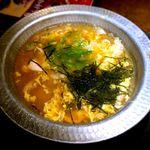 水炊き・焼き鳥 とりいちず - 鶏雑炊¥499 2018.6.5