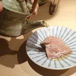 焼肉 強小亭 - イチボ 和風出汁