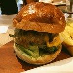 イル ソーレカリーノ - ランチのハンバーガー