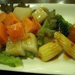 ジャディアン - 根菜類中心ののサラダ