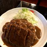 ベル - 料理写真:ハンバーグカレー