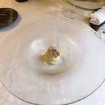 アル・ケッチァーノ - 石鯛のカッペリーニ、一口サイズ\(//∇//)\