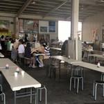 田子の浦港 漁協食堂 - 悪天でラッキー?