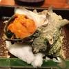 日本橋逢坂 - 料理写真:さざえの海苔焼き