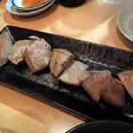 ホッピー まる - 焼きレバー420円