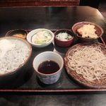 長生庵 - シラス丼のセット
