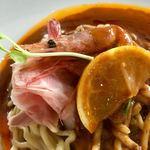 かみあり製麺 - 甘えび和えの具材