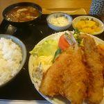 香楽 - 料理写真:魚フライ定食