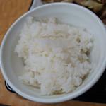 東龍軒 - ご飯