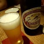 瓢亭MARU - 瓶ビールで乾杯(^^♪