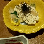 瓢亭MARU - 刺し身湯葉 850円