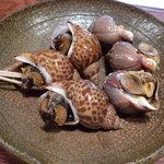 とまや - マツブ貝とバイ貝