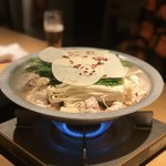 Mizutakiginjoumotsunabeyuno - もつ鍋