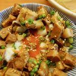 純手打ち 麺と未来 - 煮込み飯 350円