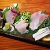 ライノスキッチン - 料理写真:お刺身盛り合わせ どれもこれも鮮度がよく、素晴らしく美味しかった!