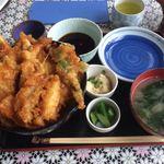 丸福 コパン - 料理写真:天丼セット1,200円