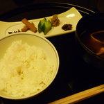 名古屋 浅田 - 食事 江戸三度ご飯 赤出汁
