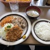 キッチンABC - 料理写真:豚からしセットB メンチカツ