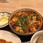 麺と酒菜の店 薫 - 四川風麻婆豆腐