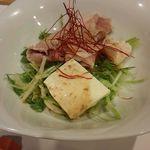料理茶屋 乃可勢 - サラダ