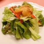 ピッツェリア・サバティーニ - フィレンツェ風白身魚のフリットサラダレモン風味