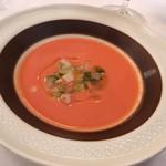 88125427 - ・ガスパチョ(トマトの冷製スープ)