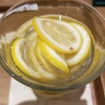 フレッシュネスバーガー - スライスレモン