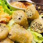 リュクス・ニャーヴェトナム - 付け合せの野菜が多い(笑)