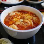 88128529 - 牛ホルモンつけ麺(中辛)