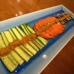 鈴や - 季節野菜のカルパッチョ